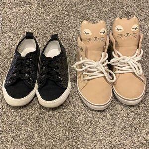 Toddler girl sneaker bundle